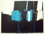 Roger Large, Rising Forms II, (126), acrylic and collage, 61x44cm, £750